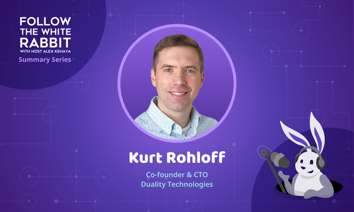 Kurt Rohloff on 9/11 Inspiring a Path to Privacy, Encryption and Military Intelligence