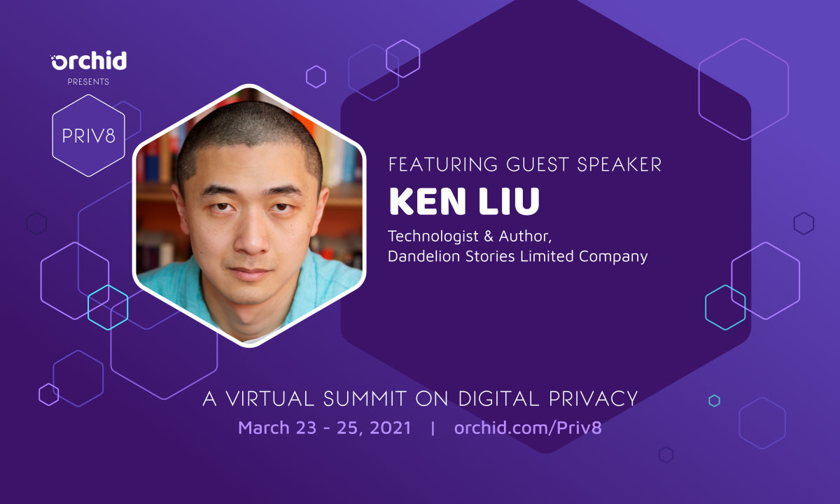 Ken Liu joins Priv8's expanding roster of speakers